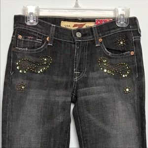 7 for All Mankind Great Wall Jeans. Size 25
